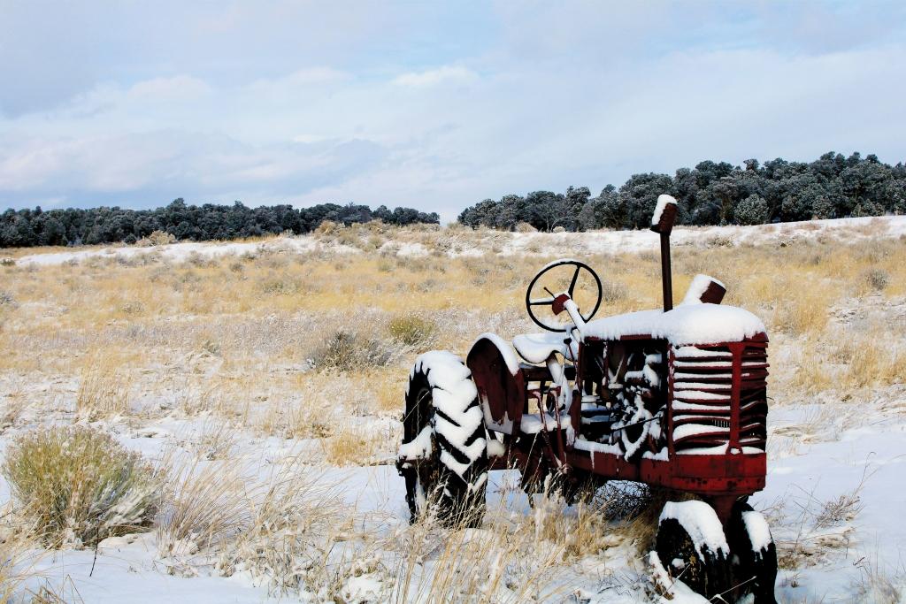 A cold winter morning in San Juan County.   Jason Schroader  photo
