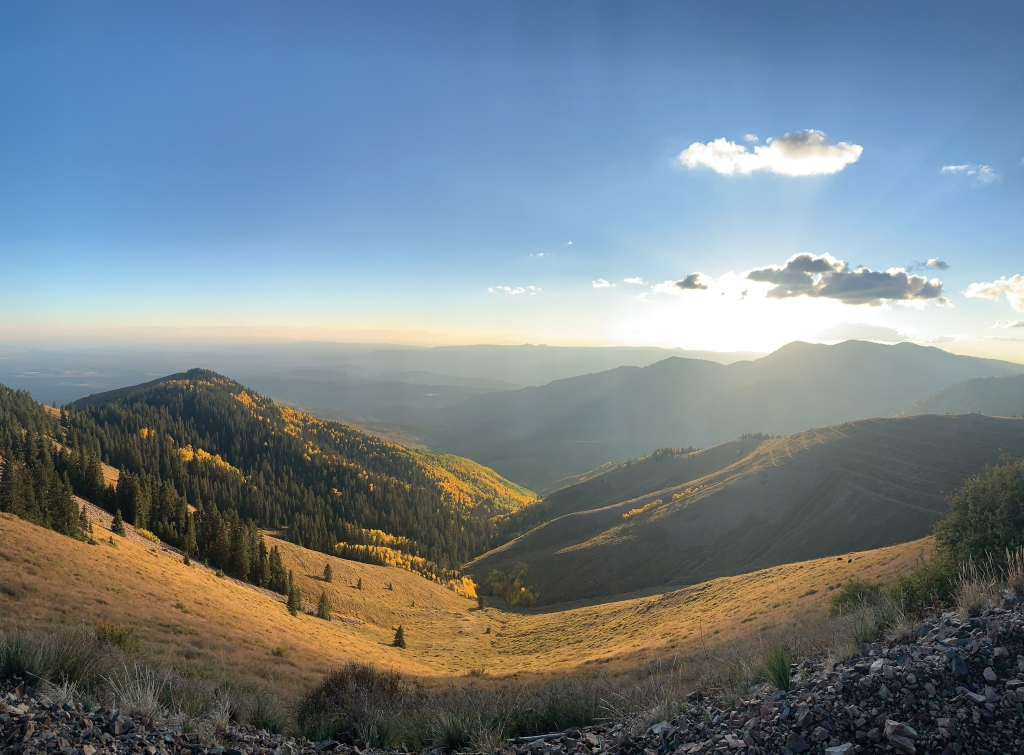 A picturesque early fall mountain view.  Jeremy Lyman photo