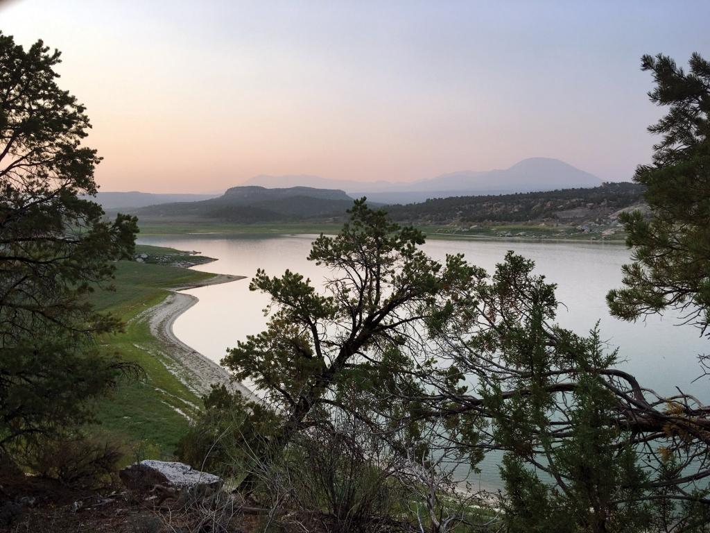 Overlooking Recapture Reservoir near Blanding.  Scott Boyle photo